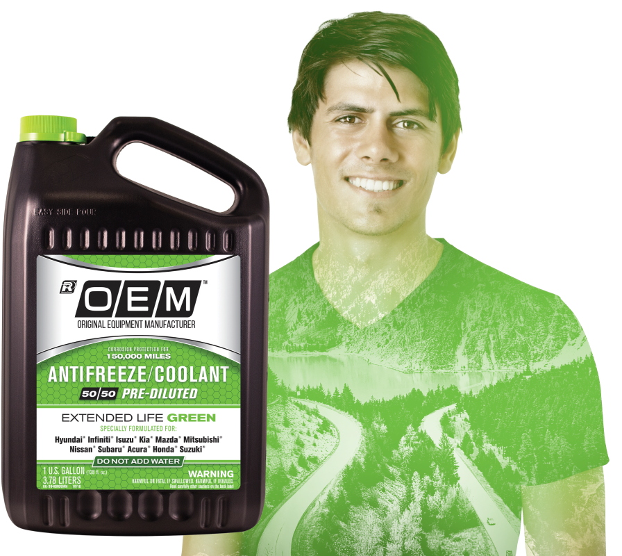 OEM Extended Life Antifreeze/Coolant GREEN